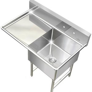 New Stainless Steel Bar/Restaurant Sinks